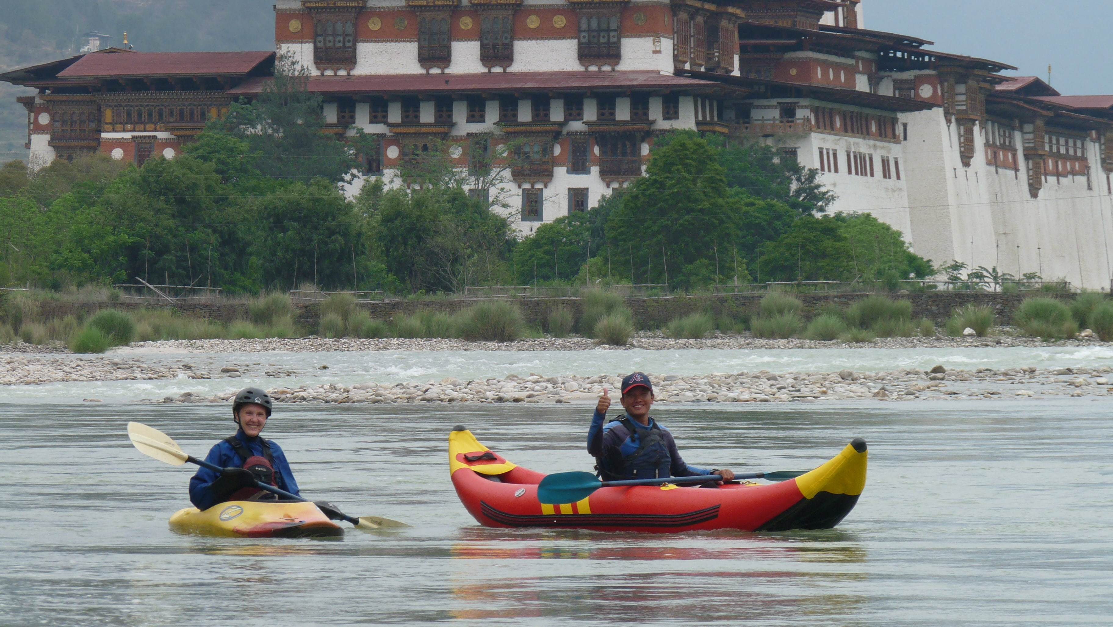RAFTING IN BHUTANESE RIVERS