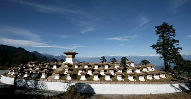 dochula bhutan